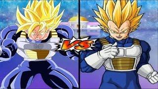 dragon ball z budokai tenkaichi 3 super goku vs super vegeta red potara