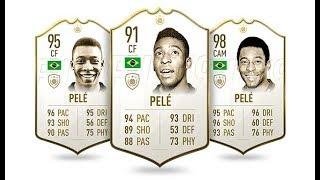 FUT CHAMPIONS  'O REY' PELÉ (95) | FIFA 19 ULTIMA TEAM
