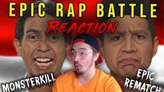 🔥BULE reaksi ke Prabowo VS Jokowi - Epic Rap Battle Of Presidency | Reaction Time! 💣