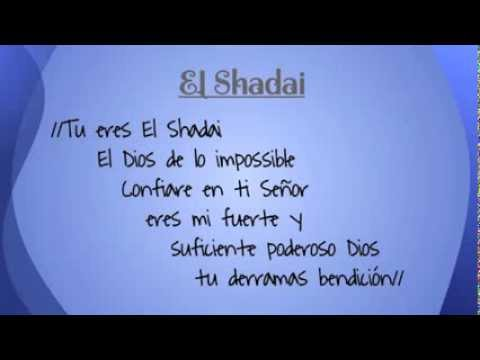 El Shaddai - New Wine Letra