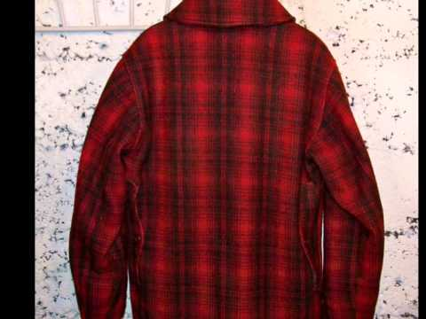 949d90b091ba1 VINTAGE WOOL WOOLRICH PA RED MACKINAW PLAID 503 UPLAND BIRD HUNTING COAT SZ  40
