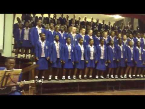 Girls' College Inter House Singing.