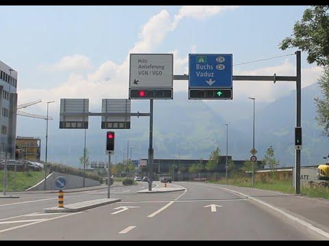 Driving In Liechtenstein - Off To Vaduz