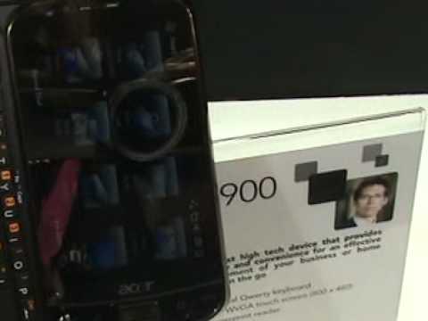 Първи минути с Acer M900
