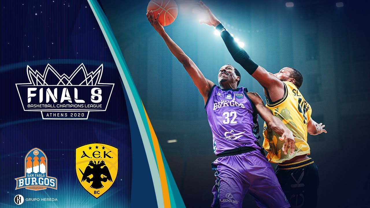 Hereda San Pablo Burgos v AEK - Full Game - Final - Basketball Champions League 2019
