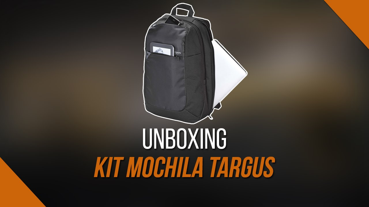 88a78b9842 UNBOXING KIT MOCHILA TARGUS ULTRALIGHT NOTEBOOK - YouTube