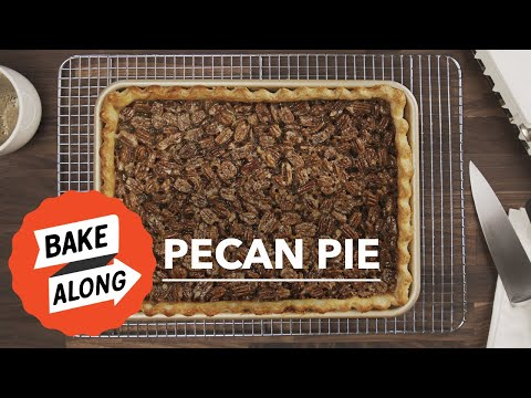 Easy Pecan Pie Recipe With Crust And Tasty Filling That Sets  | Great American Baking Show | Baking