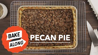Easy Pecan Pie Recipe with Crust and Tasty Filling that Sets  | from The Great American Baking Show