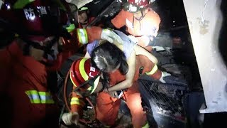 Two dead, over 80 injured in South China bar collapse