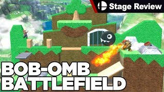 BOB-OMB Battlefield from Mario 64 in Smash Ultimate - Custom Stage