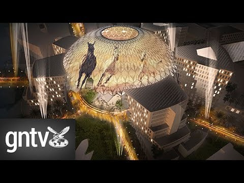 Al Wasl Plaza will be the World Expo site's centrepiece attraction