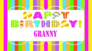 Granny   Wishes & Mensajes - Happy Birthday