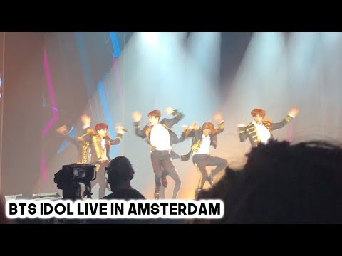 BTS (방탄소년단) IDOL LIVE IN AMSTERDAM