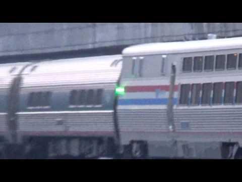 MEGA RARE! Amtrak 173 leads P40DC and Viewliner II Diner
