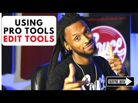 How to use the Edit Tools in Pro Tools | Grabber, Selector, Trim, Smart Tool