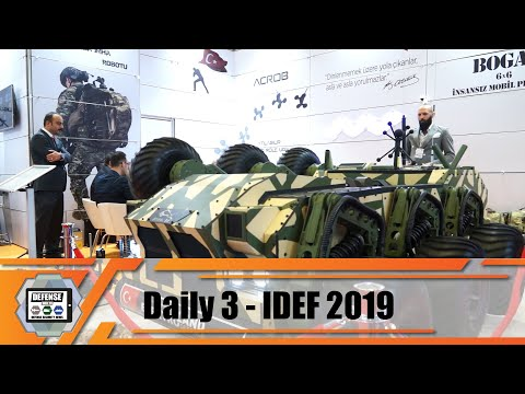 IDEF 2019 Aselsan Turkish defense industry equipment for military and security forces