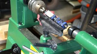 Harbor Freight Mini Lathe Review and Acrylic Pen Turning Demo