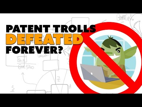 Patent Trolls DEFEATED Forever? - The Know