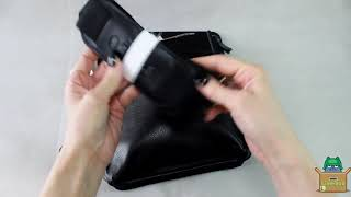 Обзор стильной кожаной мужской сумки