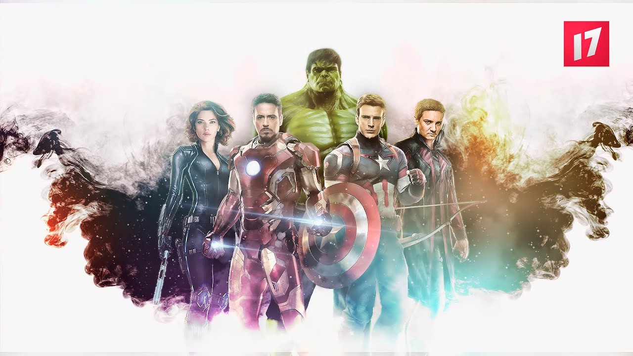 the avengers speed montage adobe photoshop cc youtube. Black Bedroom Furniture Sets. Home Design Ideas