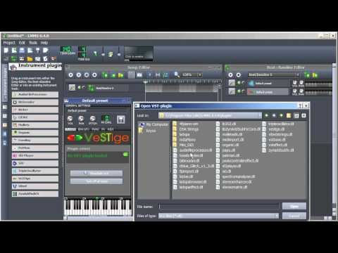 LMMS Tutorial | Getting VST Instruments - YouTube