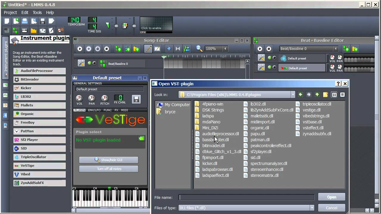 LMMS Tutorial | Getting VST Instruments