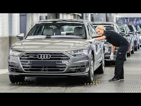 Audi A8 & A6 Production Line - Audi Neckarsulm Factory In Germany