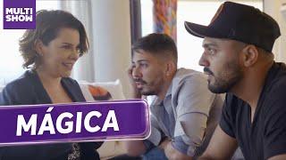 Carlinhos Maia e Tirullipa ficam DE CARA com MÁGICA de Fê 😱 | Vai, Fernandinha | Humor Multishow