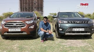 Ford EcoSport vs Mahindra XUV300 – Which one is better? | Diesel SUVs | The Kranti Sambhav Review