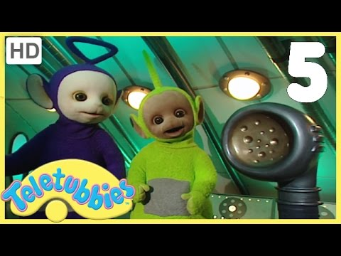Teletubbies - Numbers Five (1) (Series 3, Episode 59 Full HD Episode)