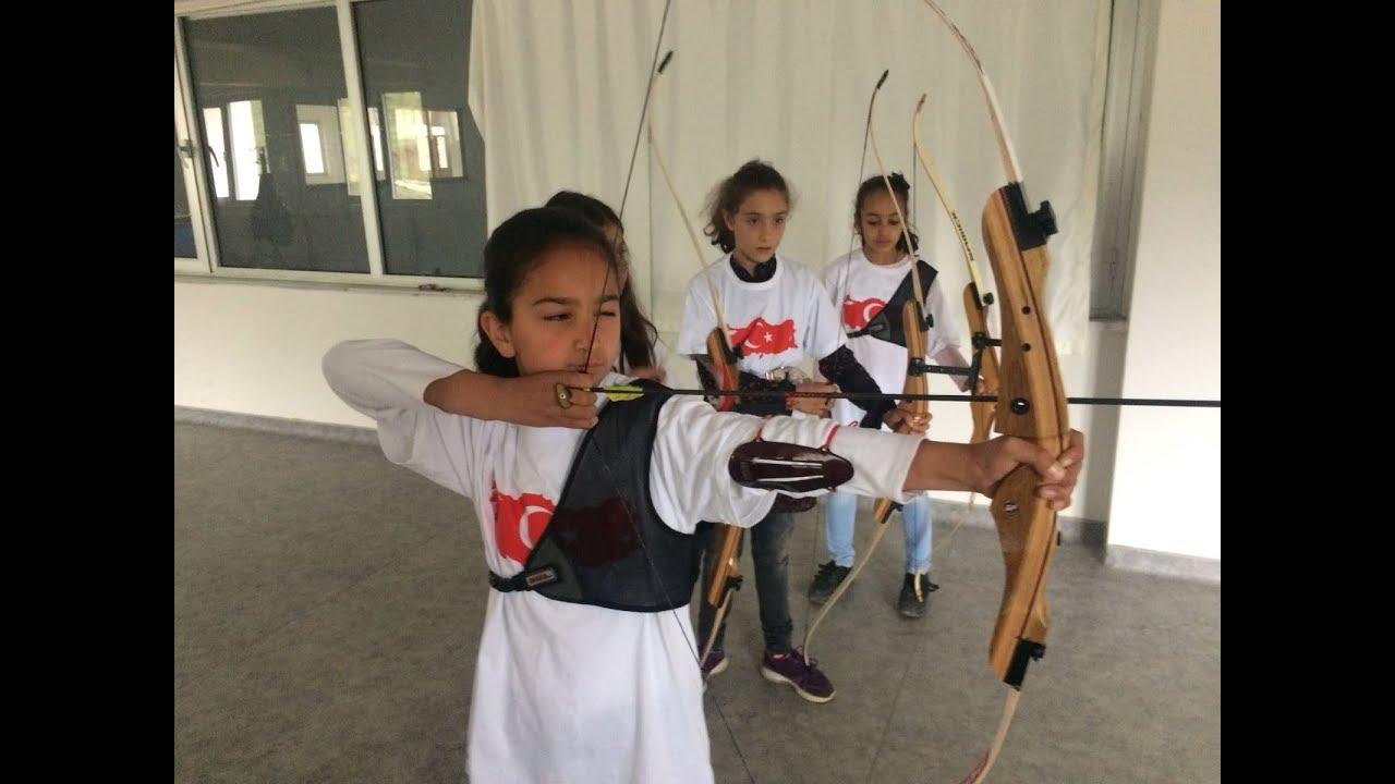 Çelikhan'da Okçuluk Eğitimine Gençlerden Yoğun İlgi