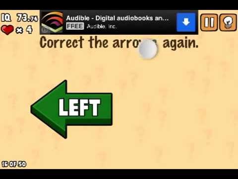 LEVEL 16 WALKTHROUGH What's my IQ ? (iPhone,iPod,iPad) IQ TEST
