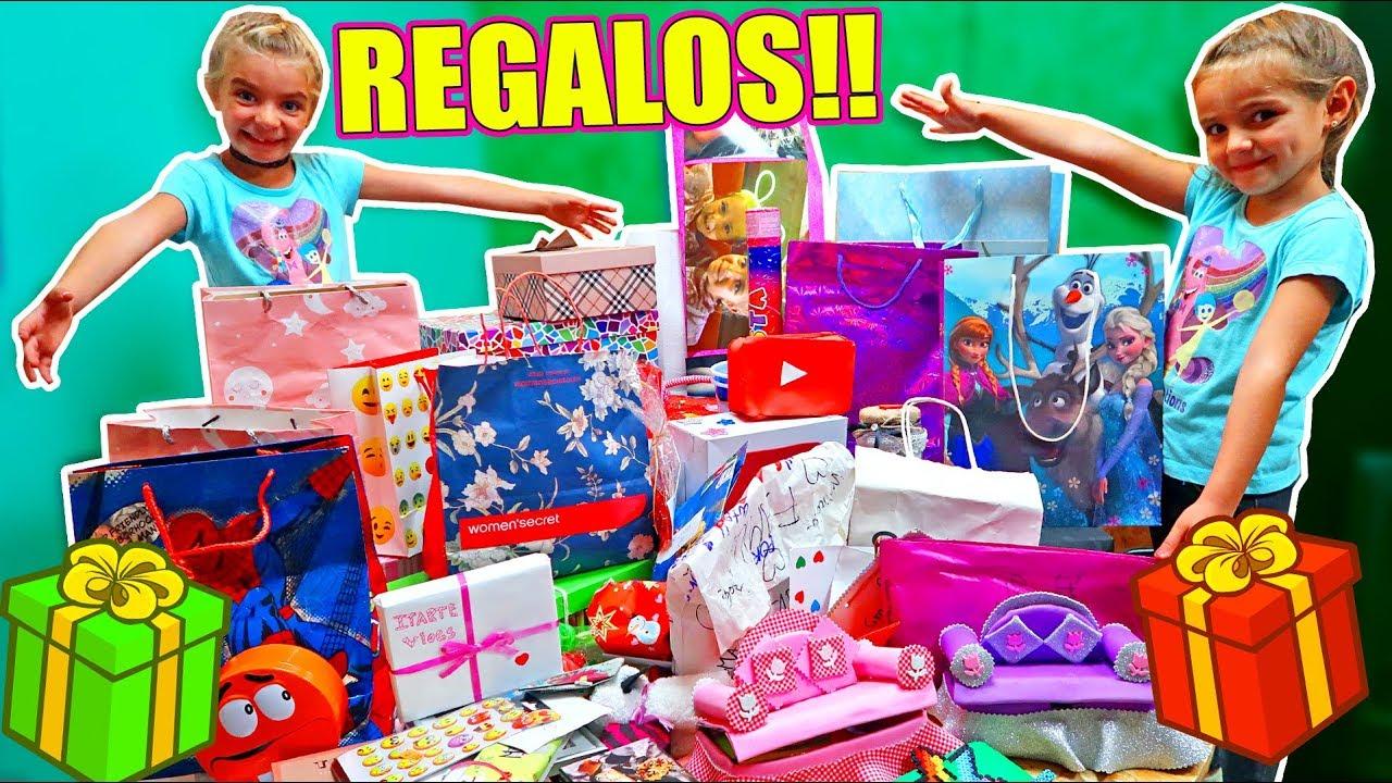 Abrimos muchos regalos youtube for Roba usata regalo