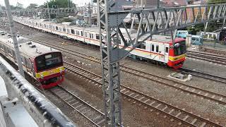 旧東京メトロ05系とJR東日本205系 | KRL Eks-Tokyo Metro Seri 05 & JR East Seri 205