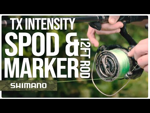 TX Intensity Spod & Marker 12ft Rod - With Billy Flowers | Shimano Tribal Europe