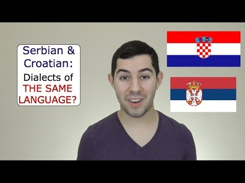Are Serbian and Croatian the Same Language?
