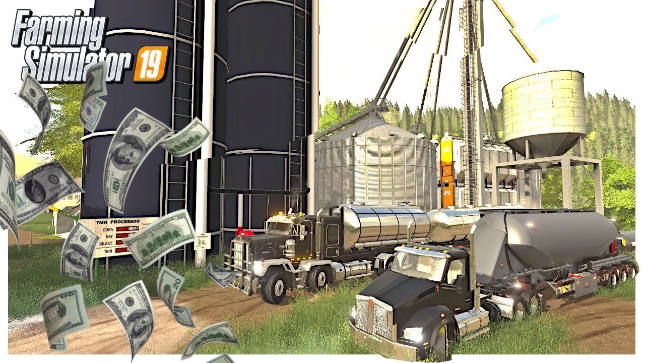 MILLION DOLLAR SELL OFF 🤑 | Georgetown Roleplay | Farming Simulator 19