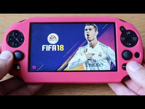 FIFA 18 PS Vita Remote Play Gameplay