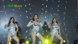 Yêu Làm Chi   Châu Ngọc Tiên hát tại Lễ hội Lê & Táo Hàn Quốc 2018   BinBon