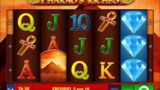 Pharaos Riches online spielen - Bally Wulff / Merkur Spielothek