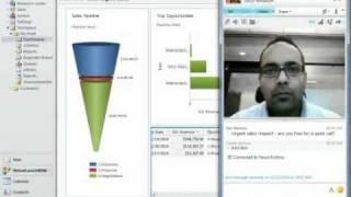 Microsoft CRM 2011 - Sales Productivity Demo