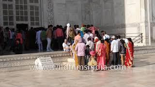 Hundreds throng Taj Mahal on Shah Jahan 364th death anniversary