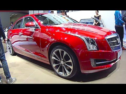 New Cadillac ATS L 2016, 2017 interior, exterior - YouTube