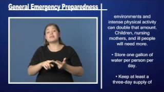 General Emergency Preparedness Pt 2