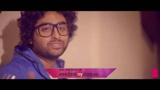 Behind the scenes with Arijit Singh