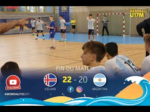 M26 GroupB I ICELAND-ARGENTINA I Mondialito2017 19/01