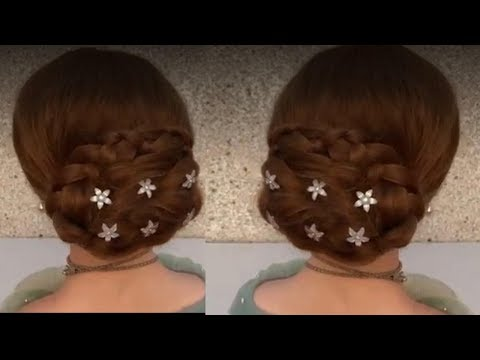 Easy Hairstyle long hair step by step #1