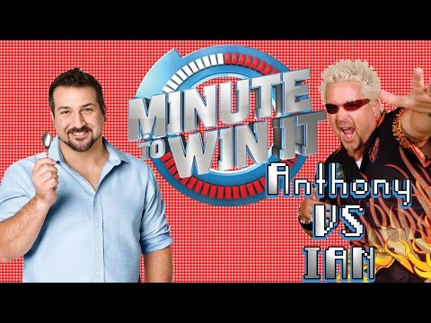 Minute To Win It - Loot Suit Riot - A Sad, Blonde, Joey Fatone