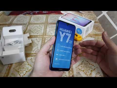 هواوى Y7 2019 نظره اوليه على الموبايل الميه ميه &Huawei Y7 2019