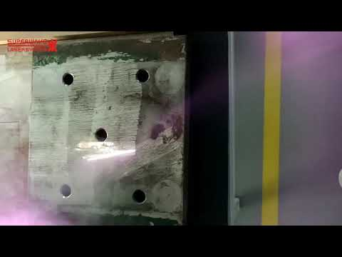 200 Watt Laser Cleaning Machine For Stainless Steel Rust Removal